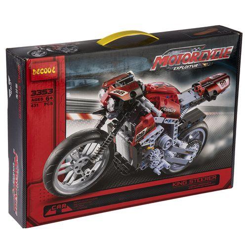 ساختنی دکول مدل Motorcycle 3353