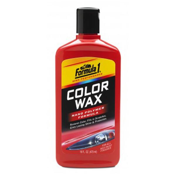 واکس رنگی فرمول وان مدل 688690 مناسب برای خودرو های قرمز- حجم 473 میلی لیتر