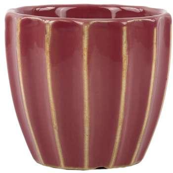 گلدان سرامیک هومز مدل 30120 مجموعه 2 عددی