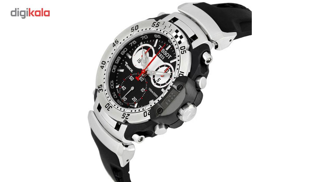 ساعت مچی عقربه ای مردانه تیسوت مدل T027.417.17.051.00 -  - 2