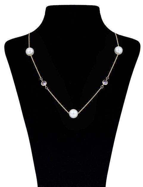 گردنبند طلا 18 عیار ماهک مدل MM0564 - مایا ماهک -  - 1