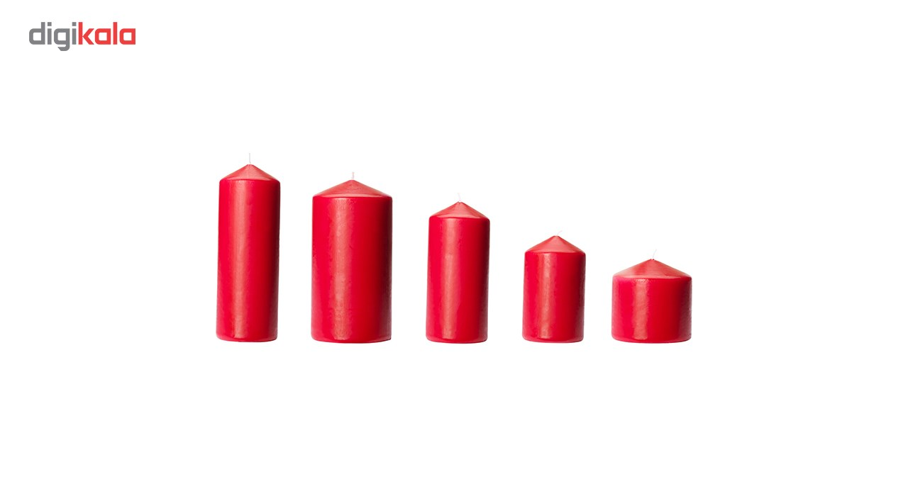 شمع ایکیا مدل Fenomen بسته 5 عددی
