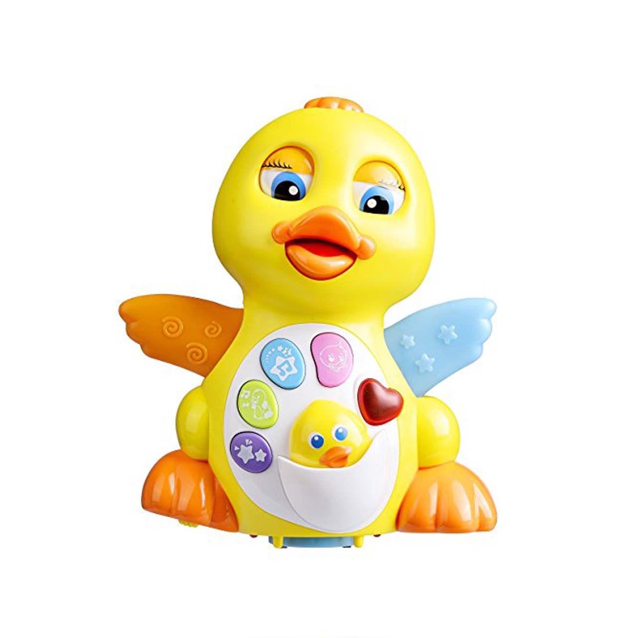 اسباب بازی موزیکال اردک هیلی مدل  808