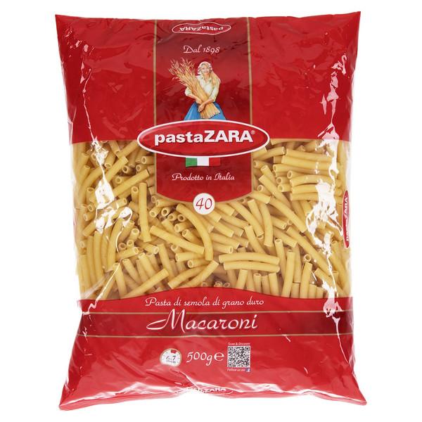 پاستا پاستا زارا مدل Macaroni مقدار 500 گرم