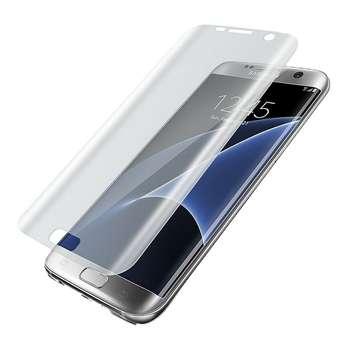 محافظ صفحه نمایش  شفاف مدل TPU Full Cover مناسب برای گوشی موبایل سامسونگ Galaxy S7