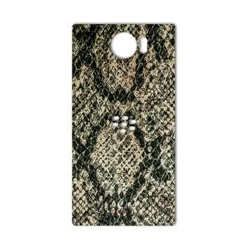برچسب پوششی ماهوت مدلJungle-python Texture مناسب برای گوشی  BlackBerry Priv
