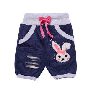 شلوارک نوزادی دخترانه مدل MA-BBP015-SHLVK.P-AB.T