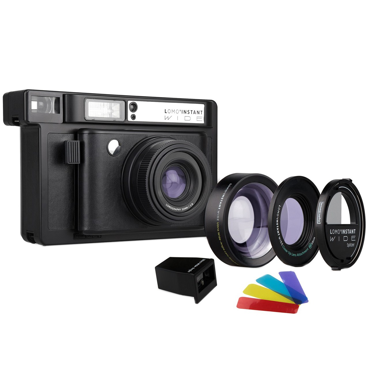 دوربین چاپ سریع لوموگرافی مدل Wide Black به همراه دو لنز
