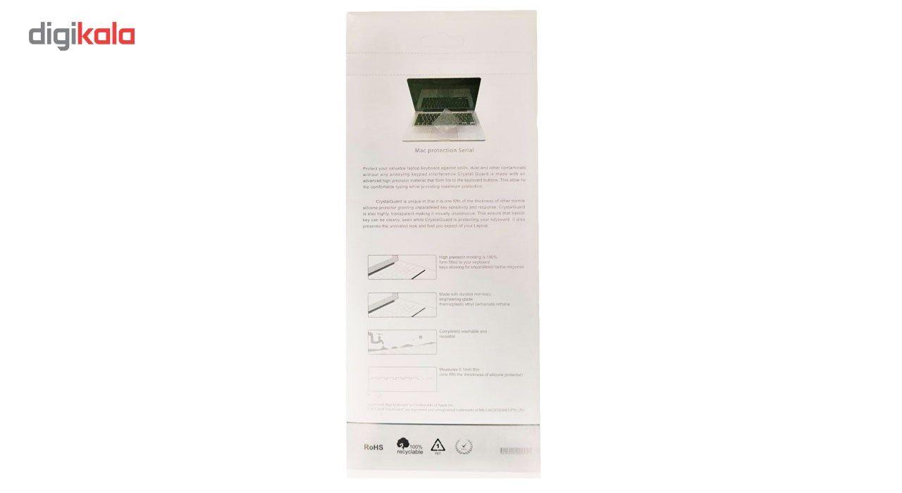 محافظ کیبورد با حروف فارسی مدل Crystal Guard مناسب برای لپ تاپ ایسوس main 1 7