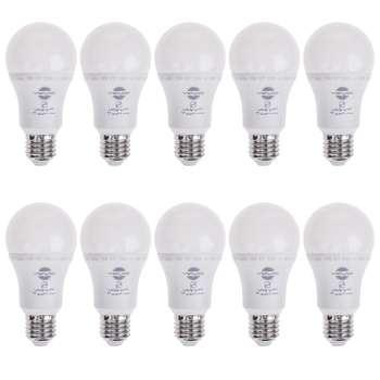 لامپ ال ای دی 12 وات پارس شهاب پایه E27 بسته 10 عددی