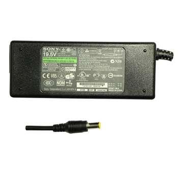 شارژر لپ تاپ 19.5 ولت 4.7 آمپر مدل VGP-AC19V10 به همراه کابل برق