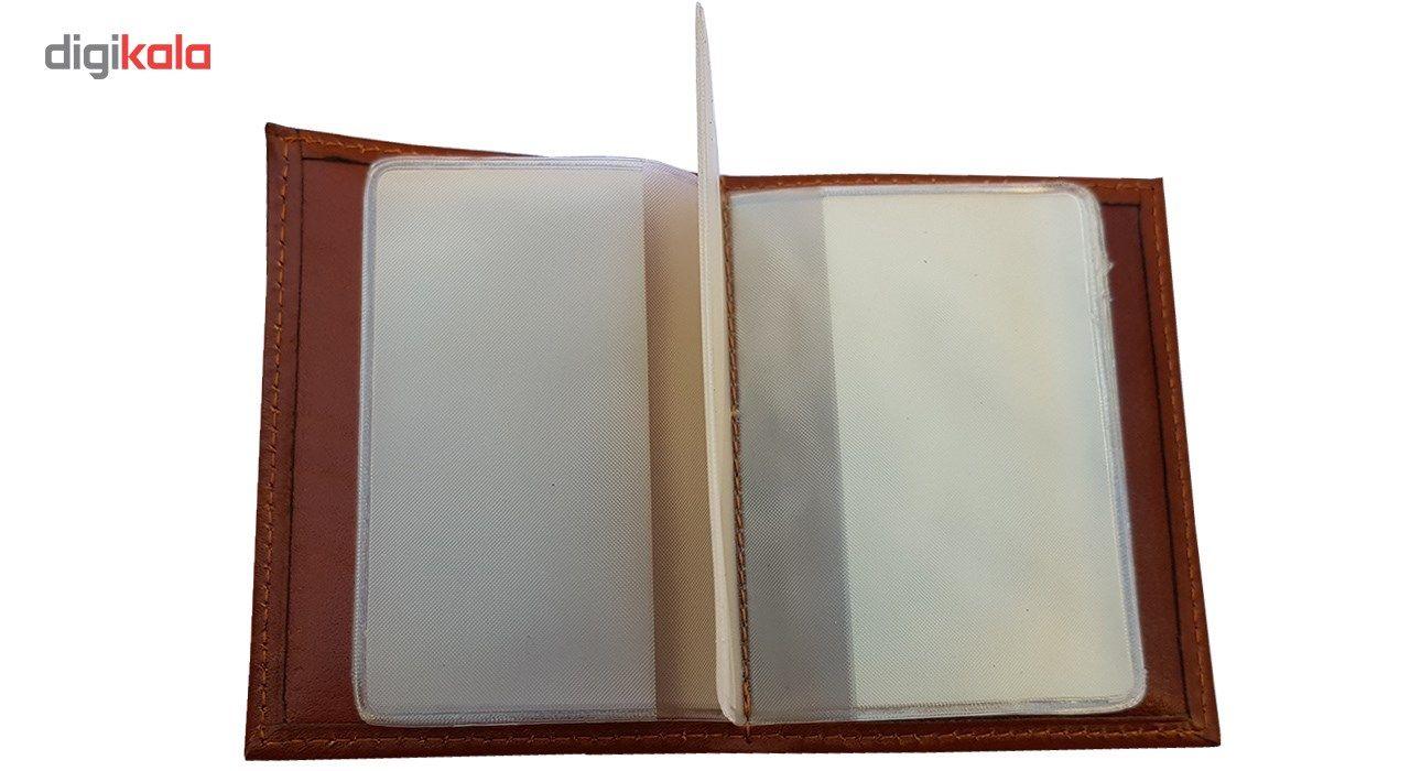 جاکارتی آلبومدار چرم دیاکو مدل atm105-albom -  - 4