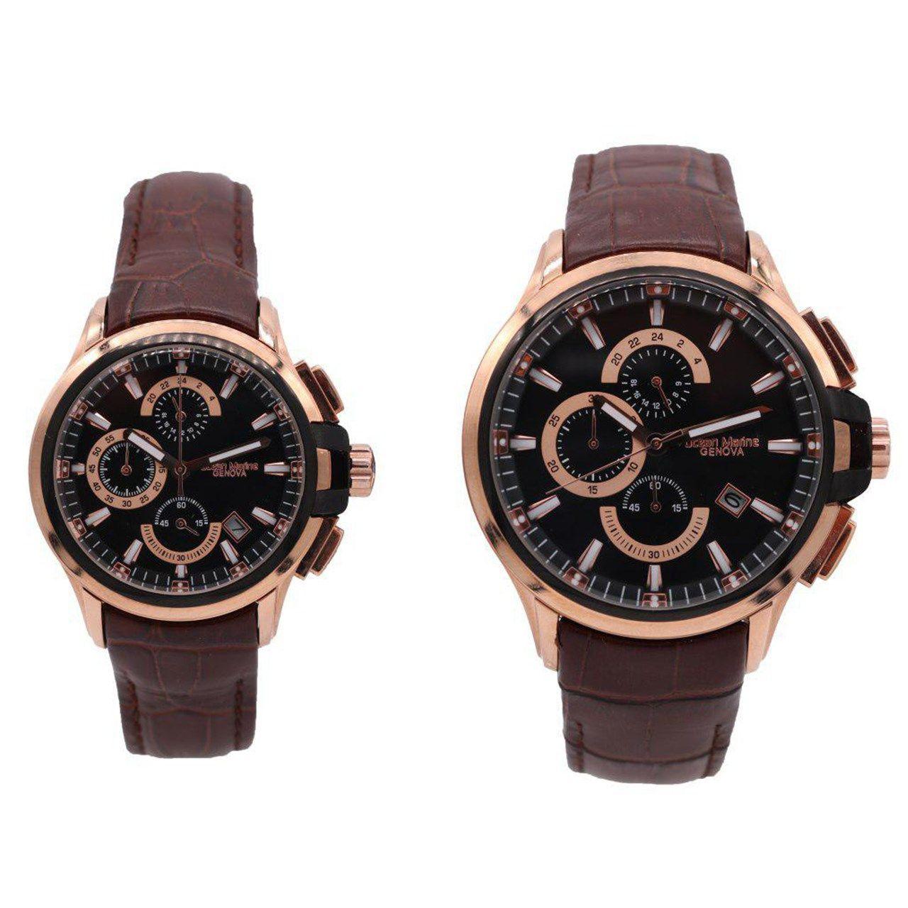 ساعت ست مردانه و زنانه اوشن مارین مدل Z-318Gc3 و Z-318Lc3 -  - 1
