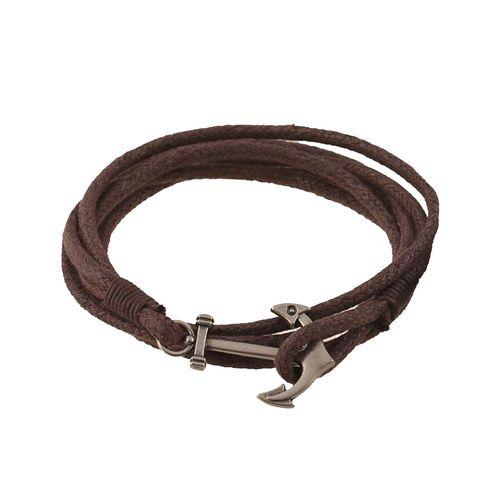 دستبند چرمی الفین مدل el02033