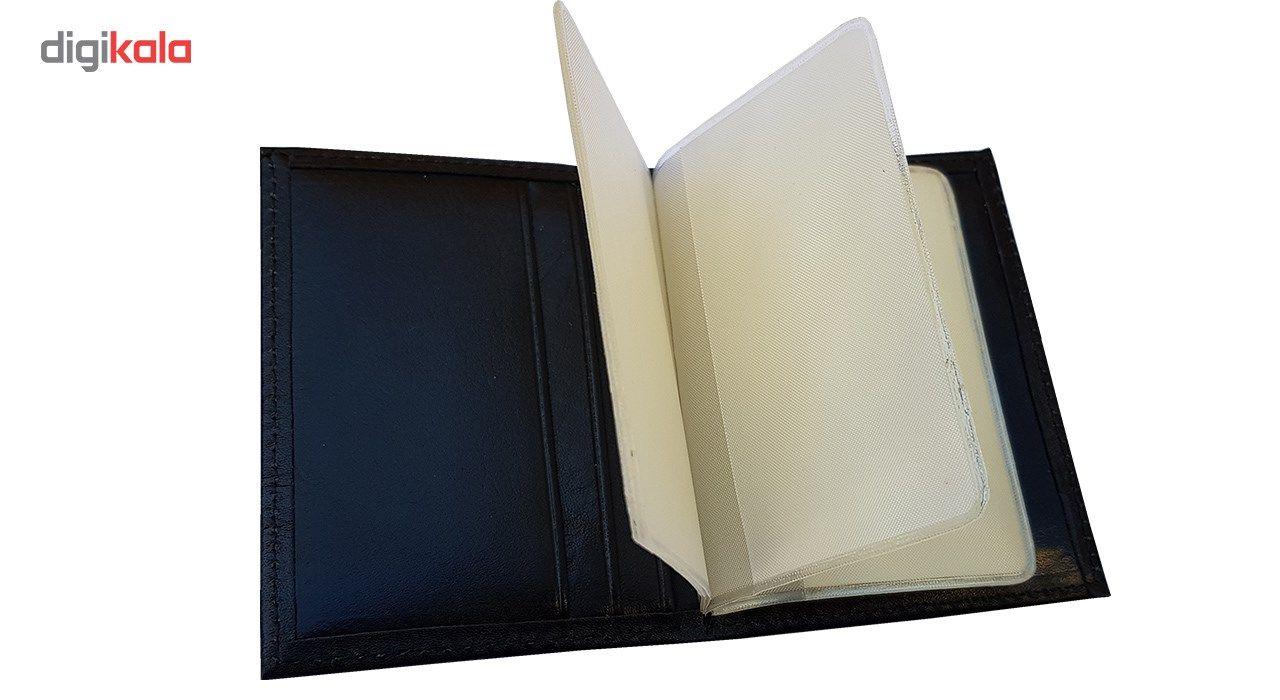جاکارتی آلبومدار چرم دیاکو مدل atm105-albom -  - 5