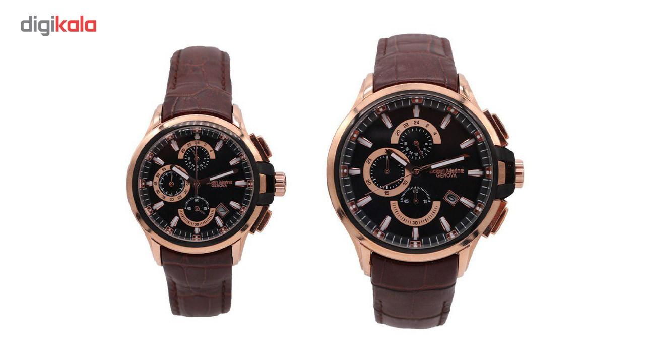 ساعت ست مردانه و زنانه اوشن مارین مدل Z-318Gc3 و Z-318Lc3