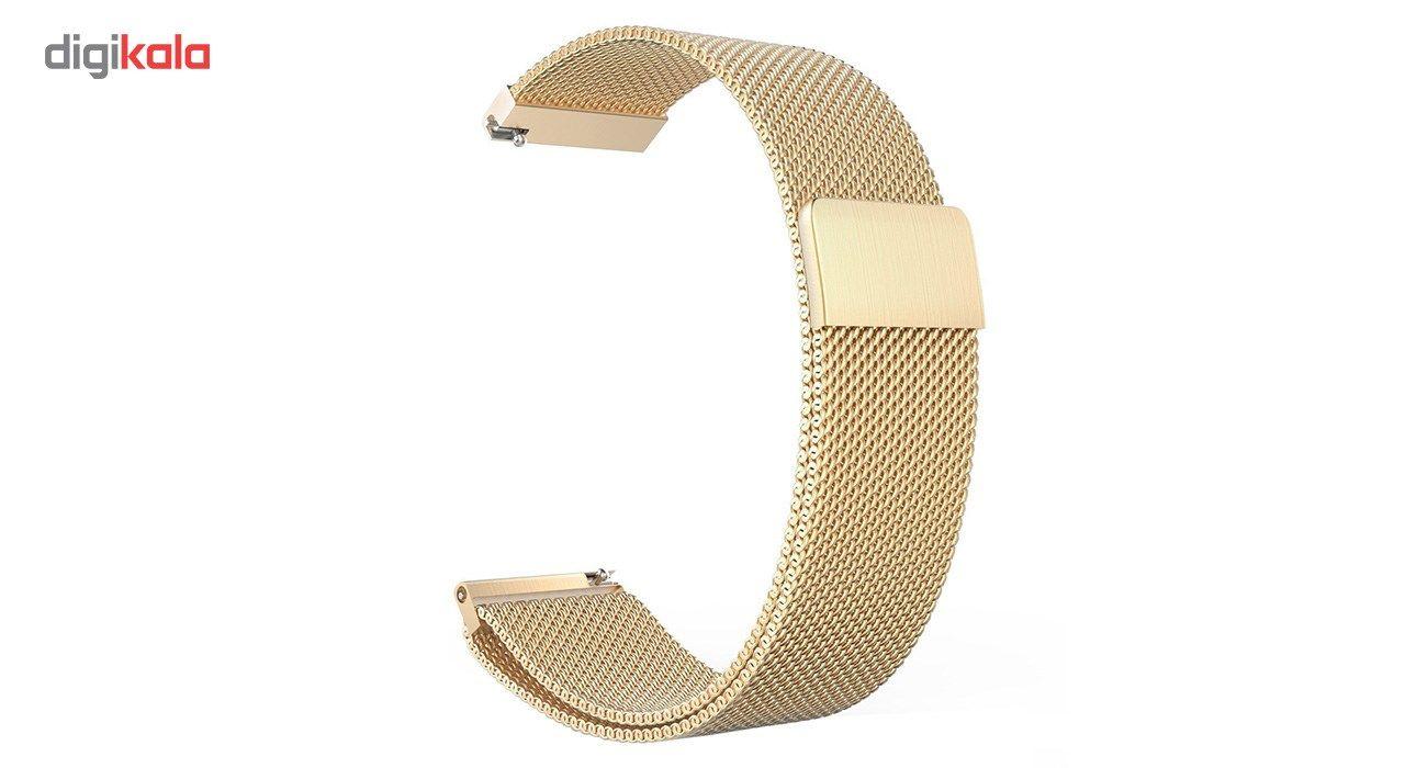 بند فلزی ساعت هوشمند مدل Magnetic-S10 مناسب برای سامسونگ Gear S3 main 1 1
