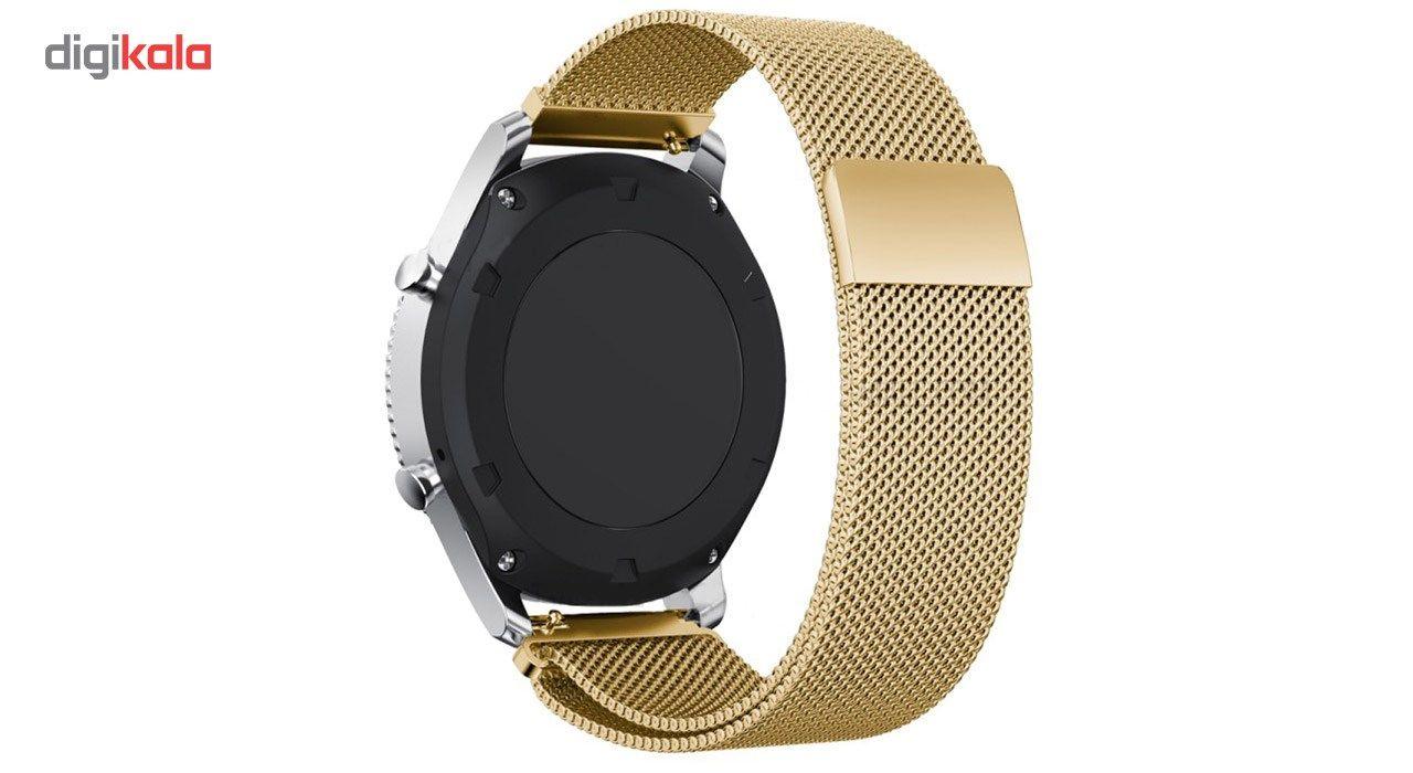 بند فلزی ساعت هوشمند مدل Magnetic-S10 مناسب برای سامسونگ Gear S3 main 1 3