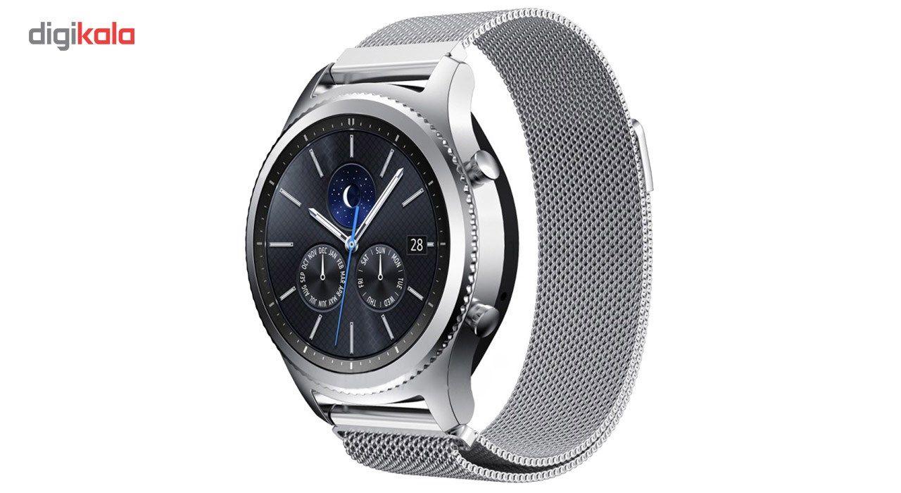 بند فلزی ساعت هوشمند مدل Magnetic-S10 مناسب برای سامسونگ Gear S3 main 1 4