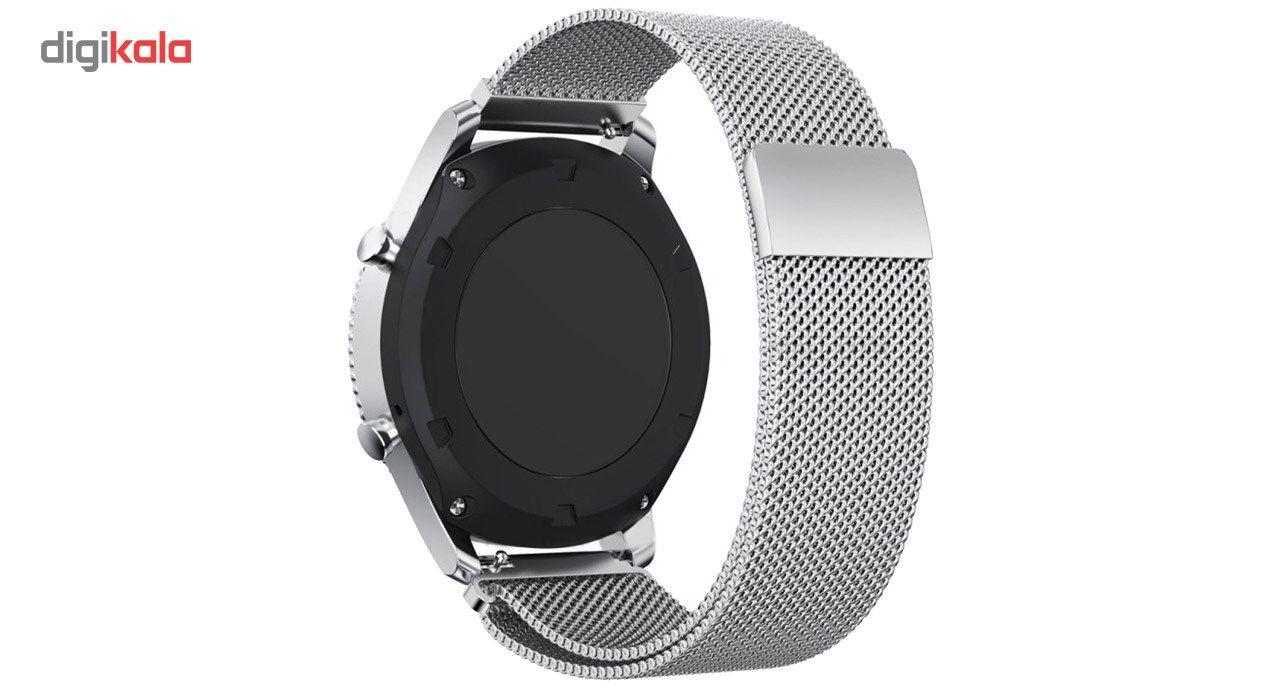 بند فلزی ساعت هوشمند مدل Magnetic-S10 مناسب برای سامسونگ Gear S3 main 1 5