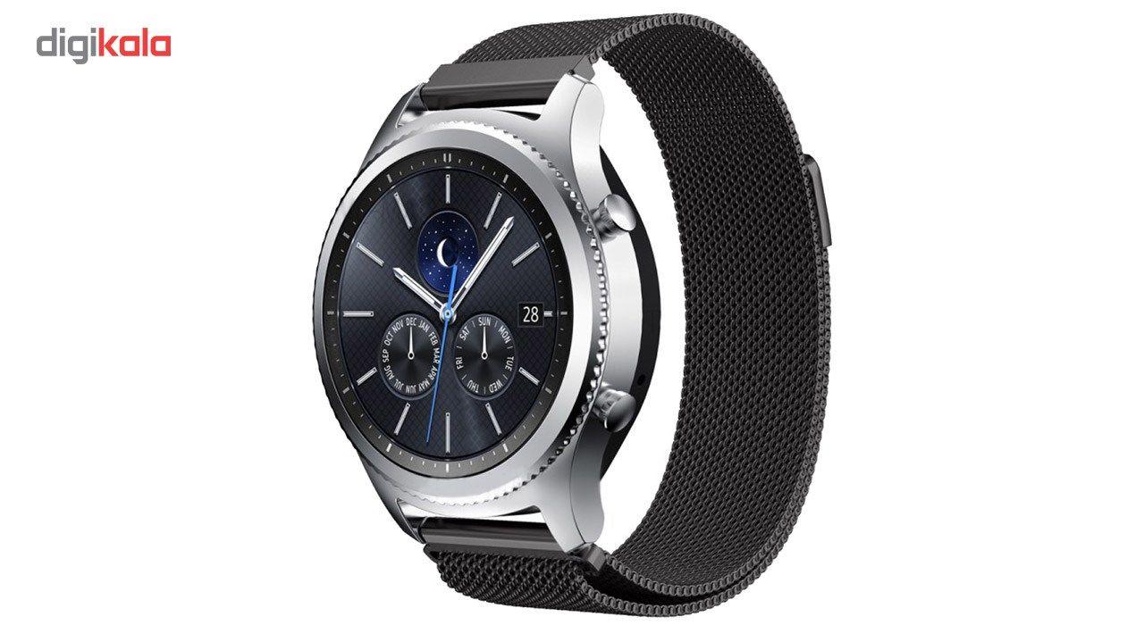 بند فلزی ساعت هوشمند مدل Magnetic-S10 مناسب برای سامسونگ Gear S3 main 1 7