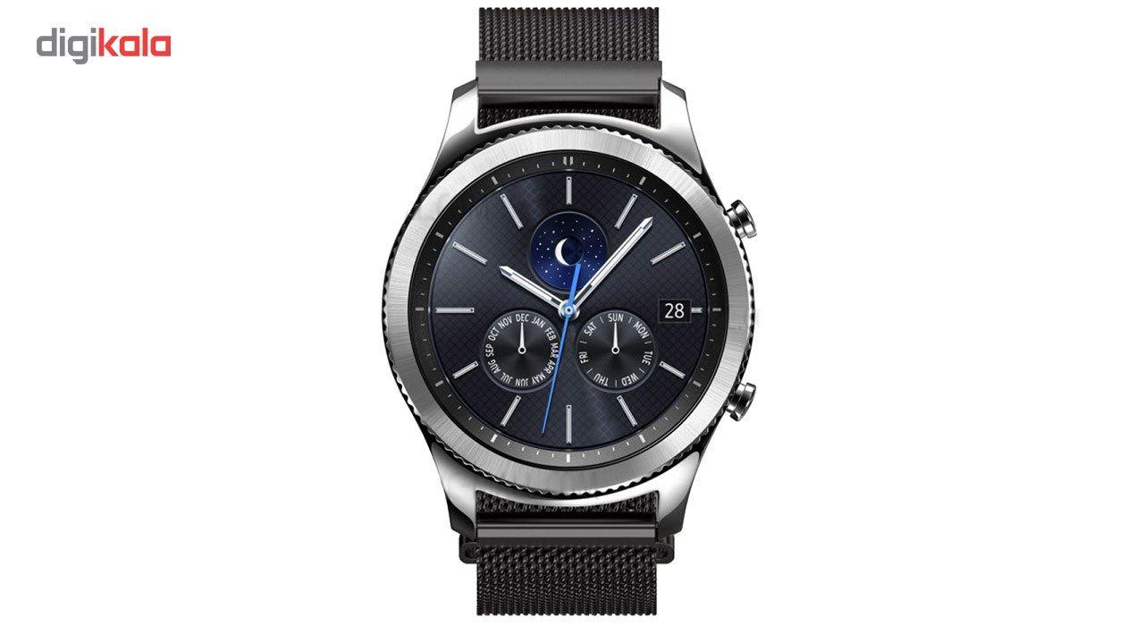 بند فلزی ساعت هوشمند مدل Magnetic-S10 مناسب برای سامسونگ Gear S3 main 1 8