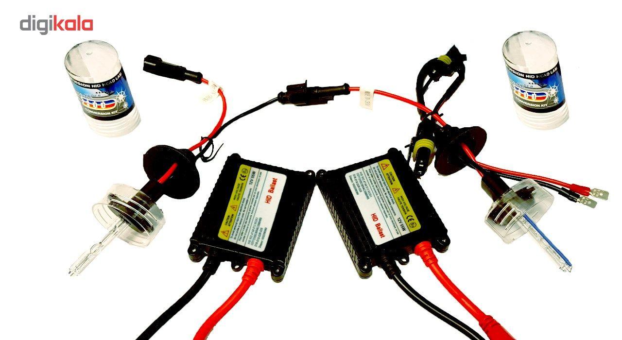 لامپ زنون خودرو اچ آی دی مدل H1 8000K بسته 2 عددی main 1 5