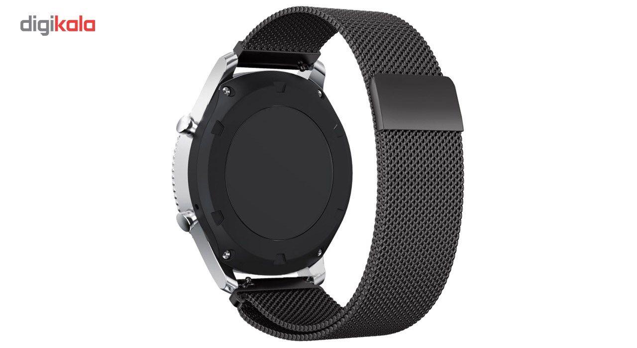 بند فلزی ساعت هوشمند مدل Magnetic-S10 مناسب برای سامسونگ Gear S3 main 1 13