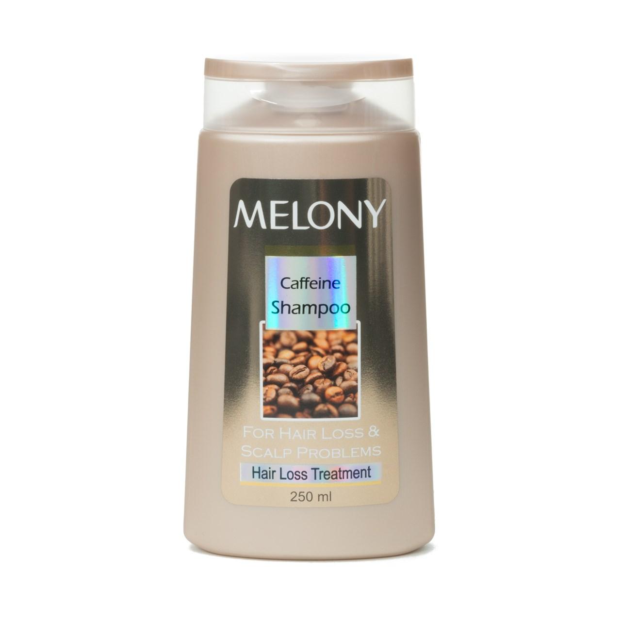 شامپو  ضد ریزش کافئین ملونی  مدل Hair Loss treatment caffeine حجم 250 میلی لیتر