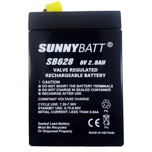 باتری 6 ولت 2.8 آمپر سانی بت مدل SB628