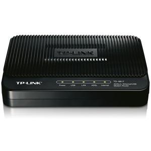 مودم-روتر +ADSL2 تی پی-لینک مدل TD-8817_V4