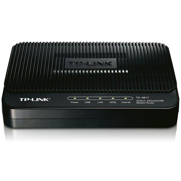 مودم-روتر +ADSL2 تی پی-لینک TD-8817