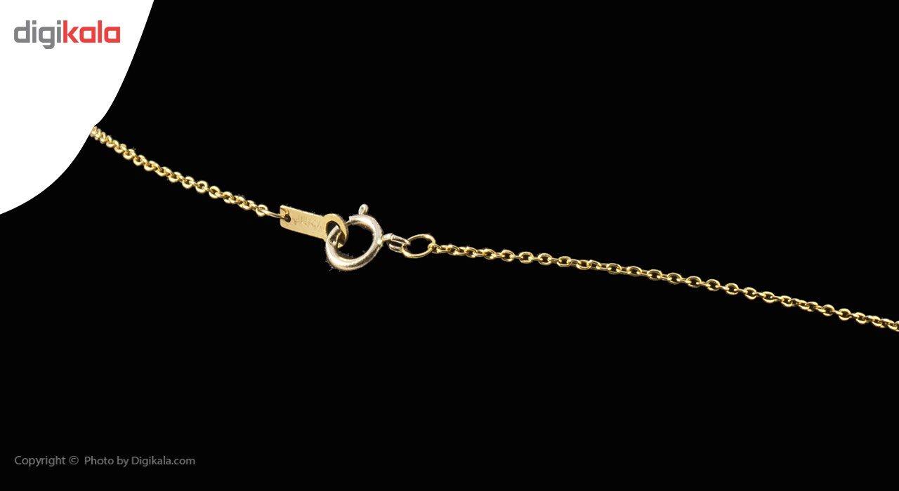 گردنبند طلا 18 عیار ماهک مدل MM0564 - مایا ماهک -  - 2