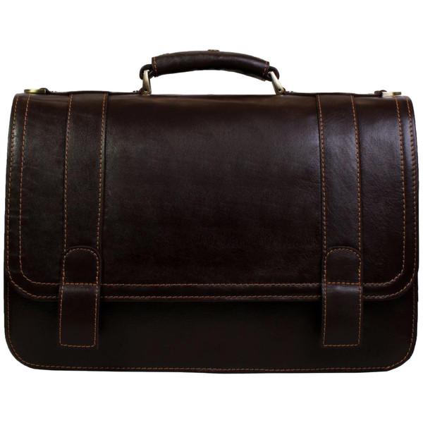 کیف اداری چرم طبیعی چرم ناب مدل قفل مخفی کد 102
