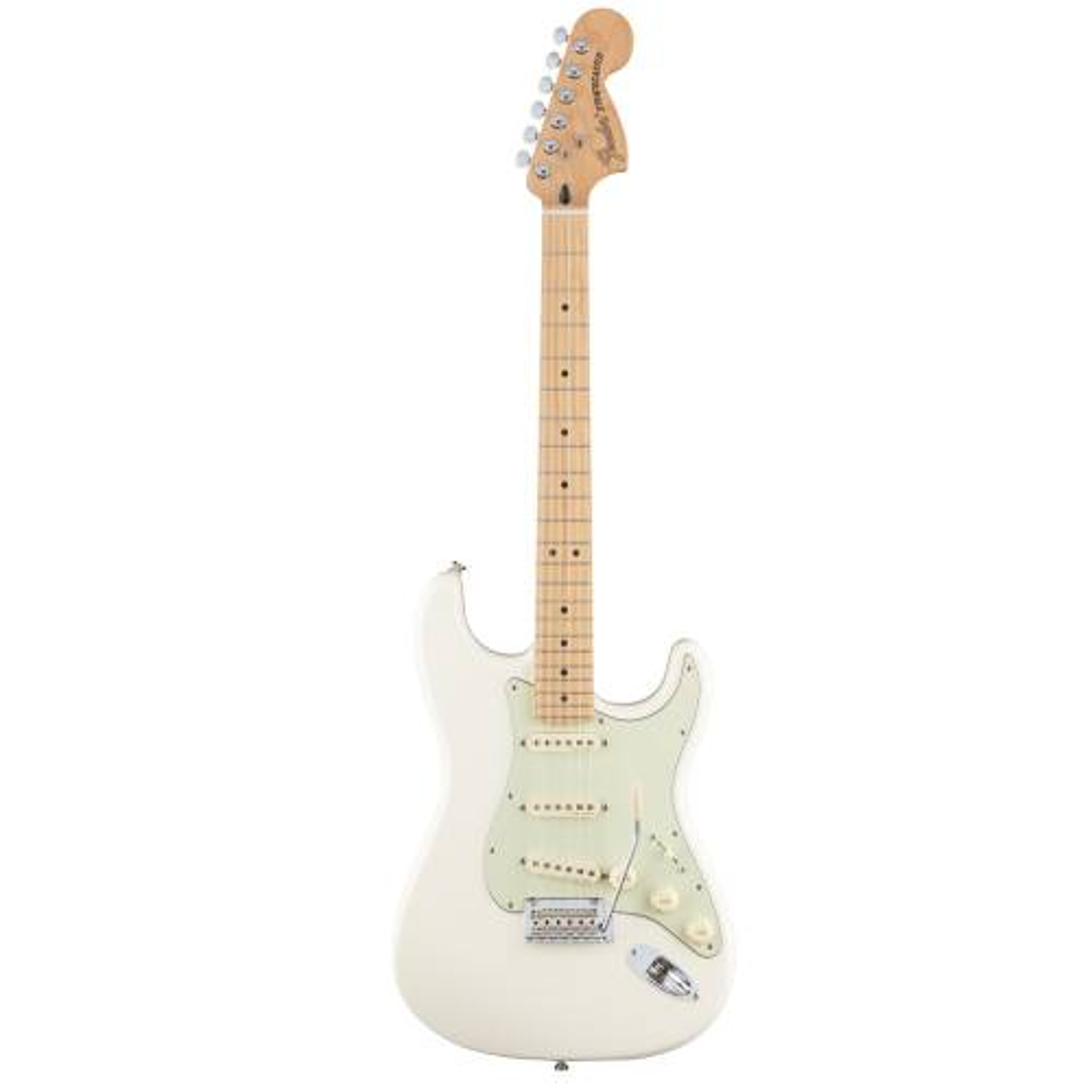گیتار الکتریک فندر مدل Deluxe Roadhouse Stratocaster MN Olympic WhiteElectric