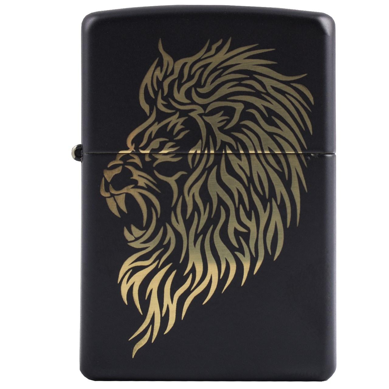 فندک زیپو مدل Lion کد 29470