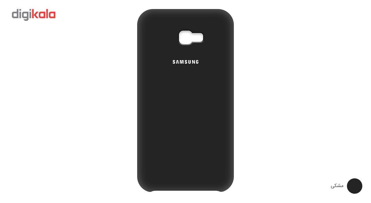 کاور سیلیکونی مناسب برای گوشی موبایل سامسونگ گلکسی Galaxy A7 2017 main 1 4