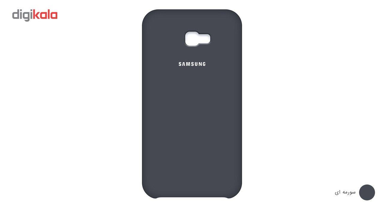 کاور سیلیکونی مناسب برای گوشی موبایل سامسونگ گلکسی Galaxy A7 2017