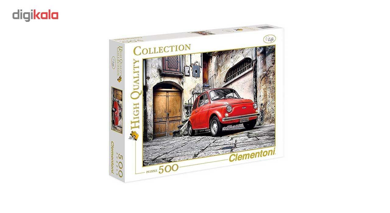 پازل 500 تکه کلمنتونی مدل Italian Style