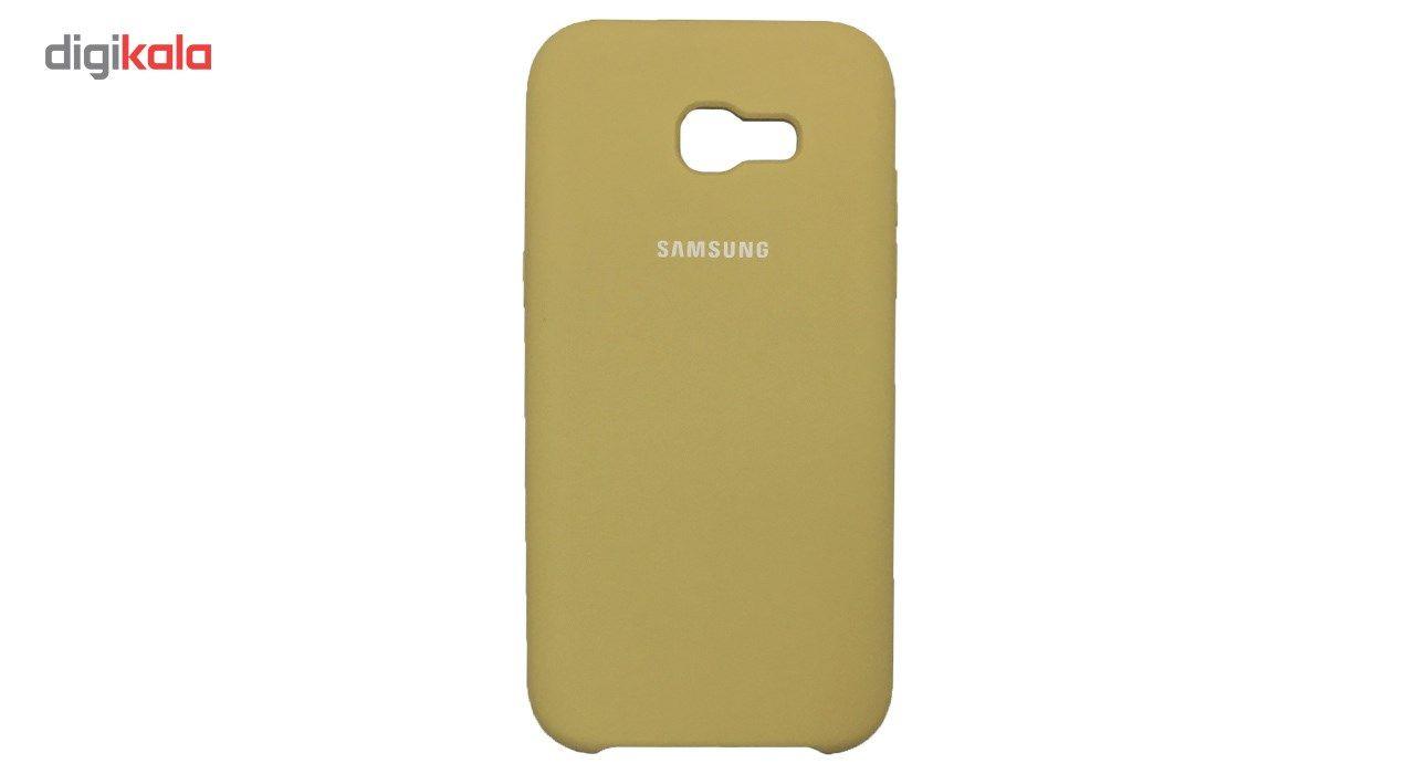 کاور سیلیکونی مناسب برای گوشی موبایل سامسونگ گلکسی Galaxy A7 2017 main 1 13