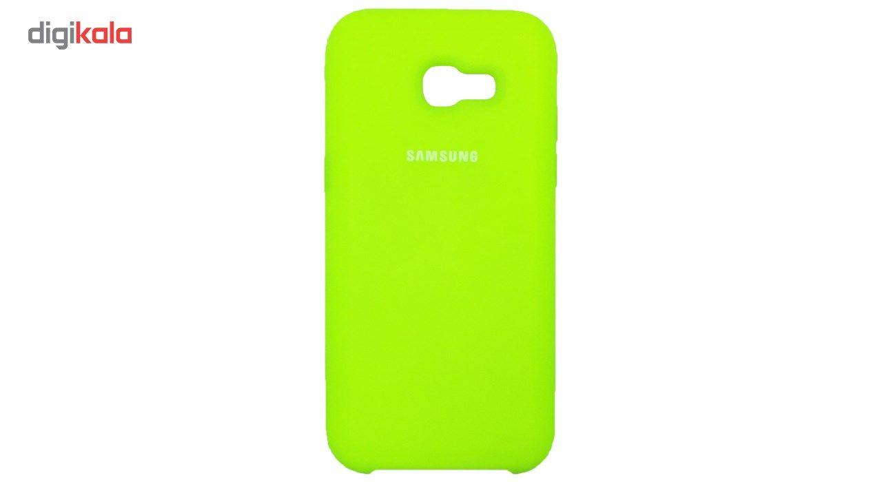 کاور سیلیکونی مناسب برای گوشی موبایل سامسونگ گلکسی Galaxy A7 2017 main 1 15