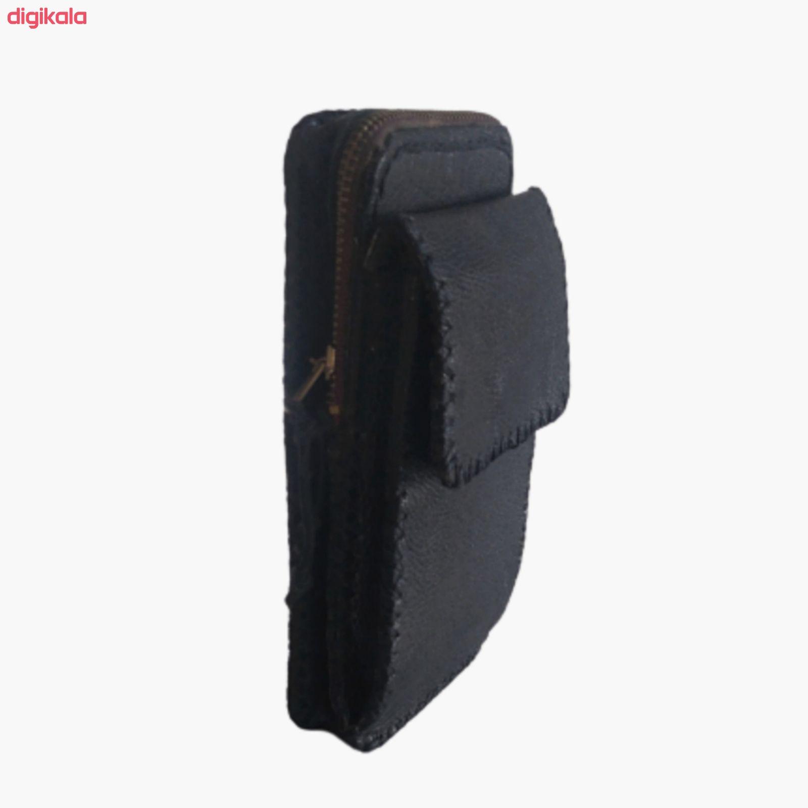 کیف کمری چرمی کد 001