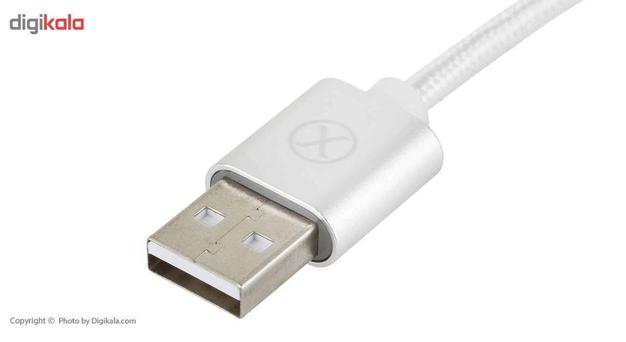 کابل تبدیل USB به USB-C ایکس.سل مدل CB-200AC طول 1.5 متر main 1 2