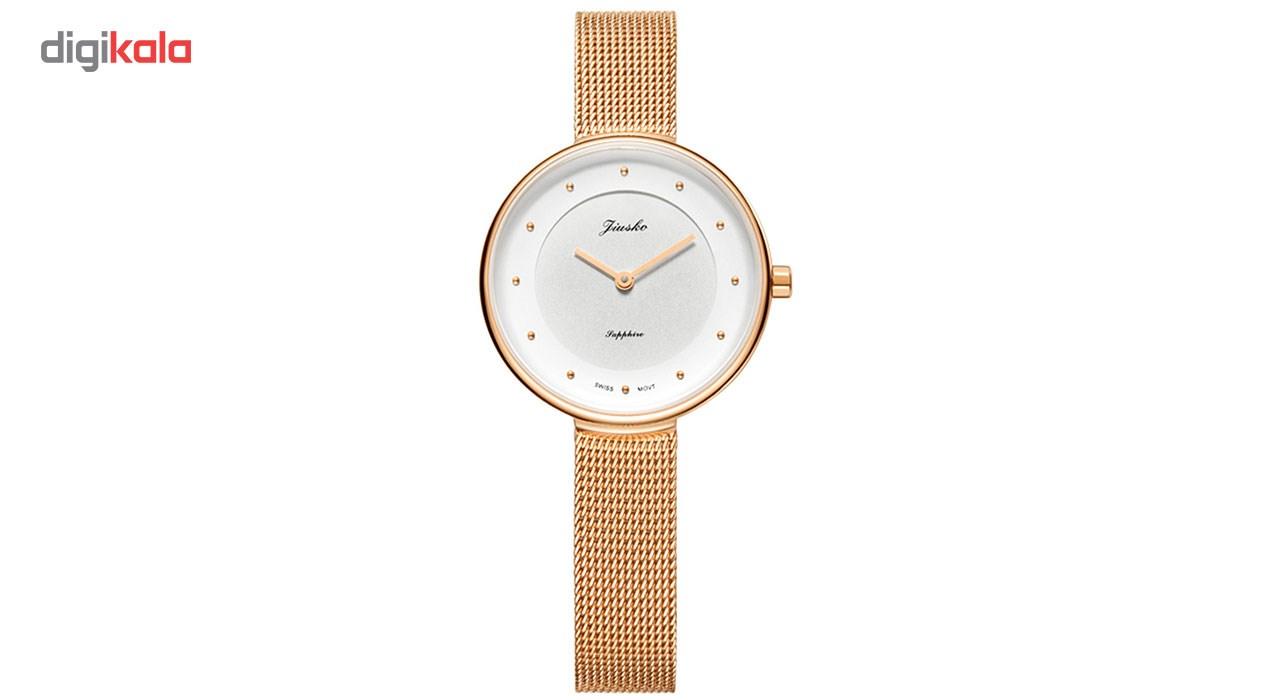 ساعت مچی عقربه ای زنانه جیوسکو مدل JFO0291M