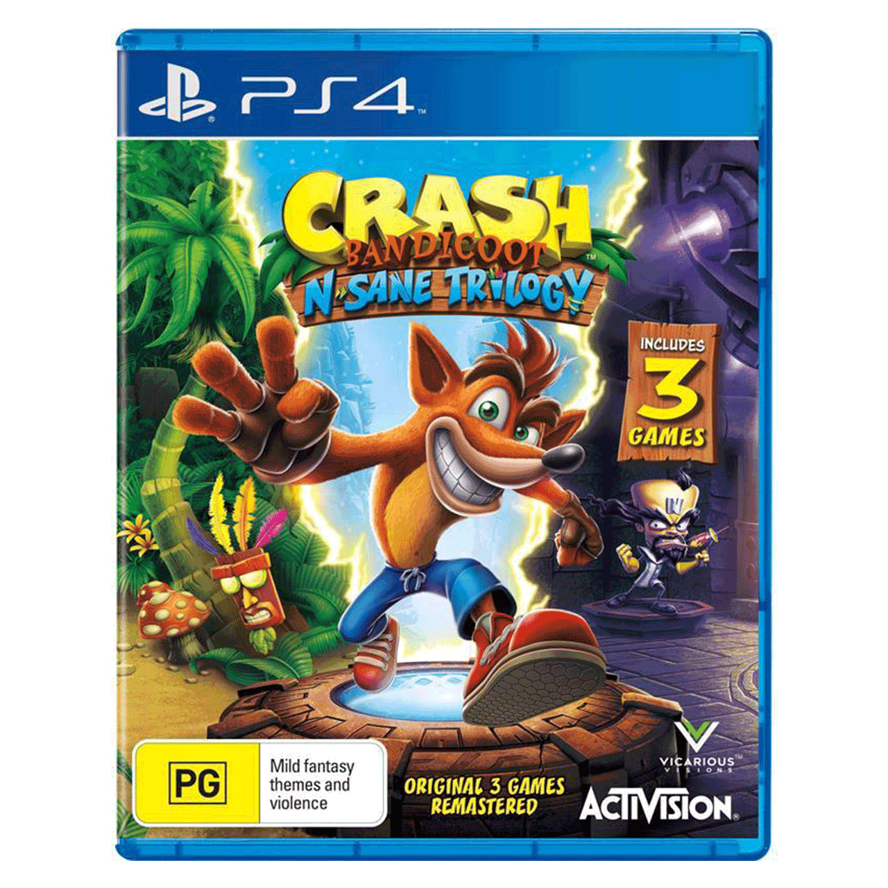 بازی Crash Bandicoot مخصوص PS4