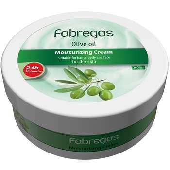 کرم مرطوب کننده فابریگاس مدل Olive Oil حجم 200 میلی لیتر