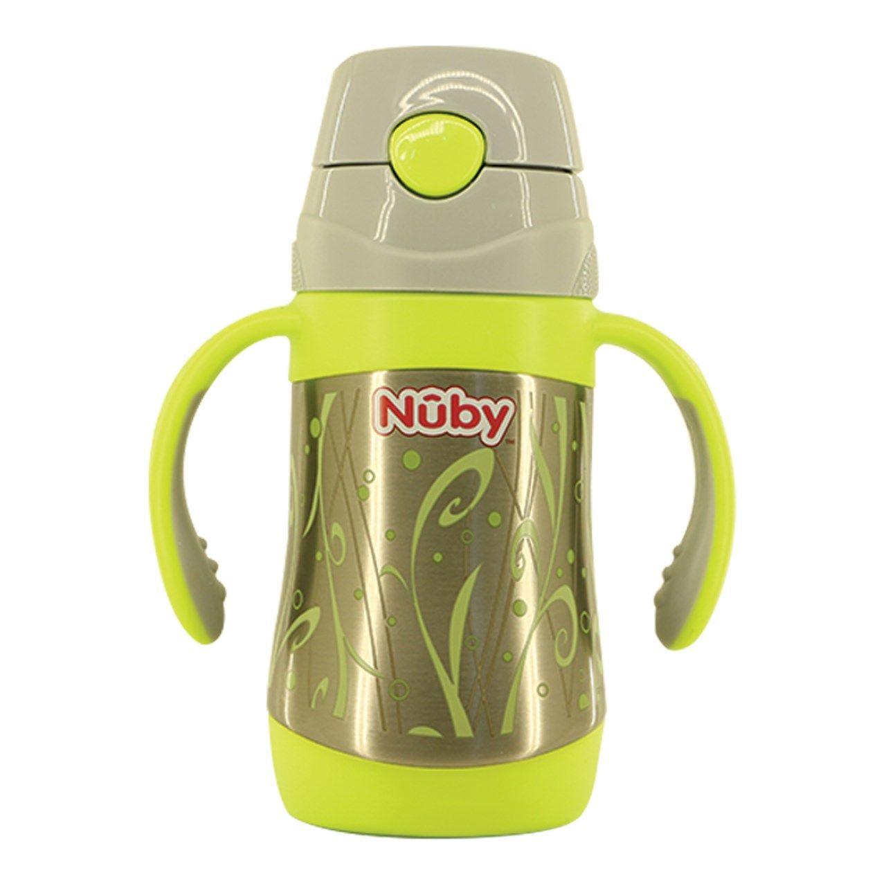 قمقمه کودک سبز نوبی مدل ID 10279 ظرفیت 0.28 لیتر