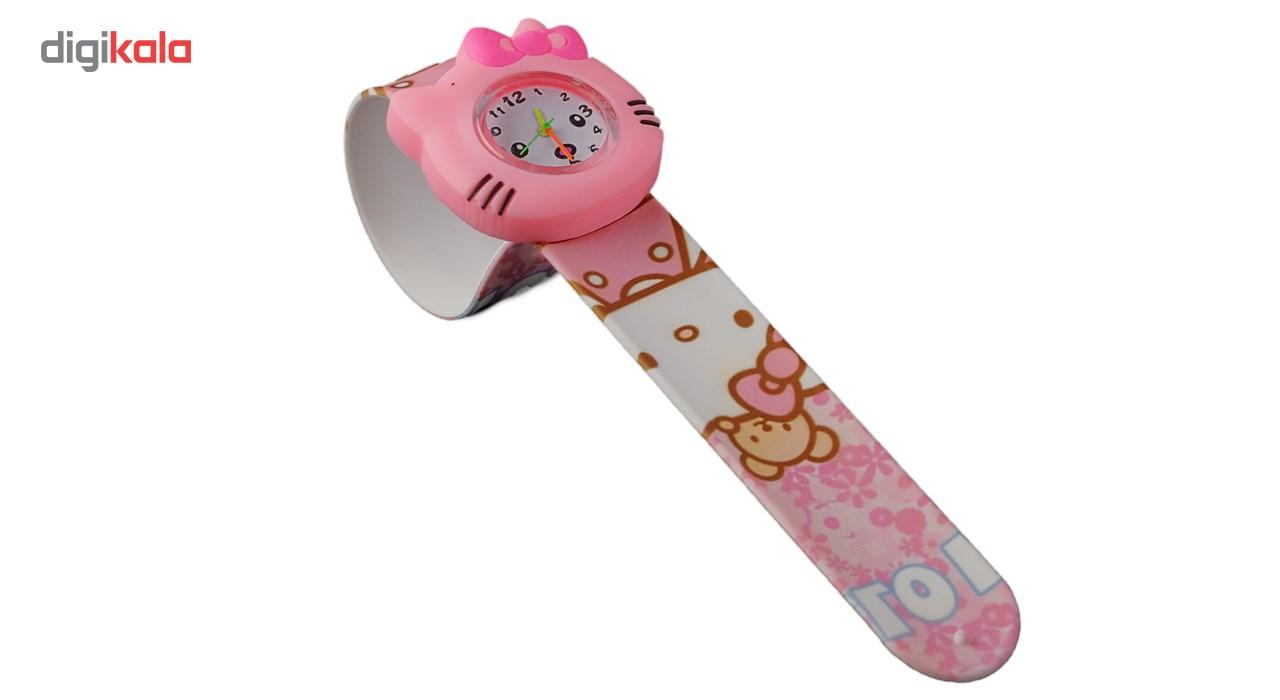 ساعت مچی عقربه ای بچگانه مدل کیتی