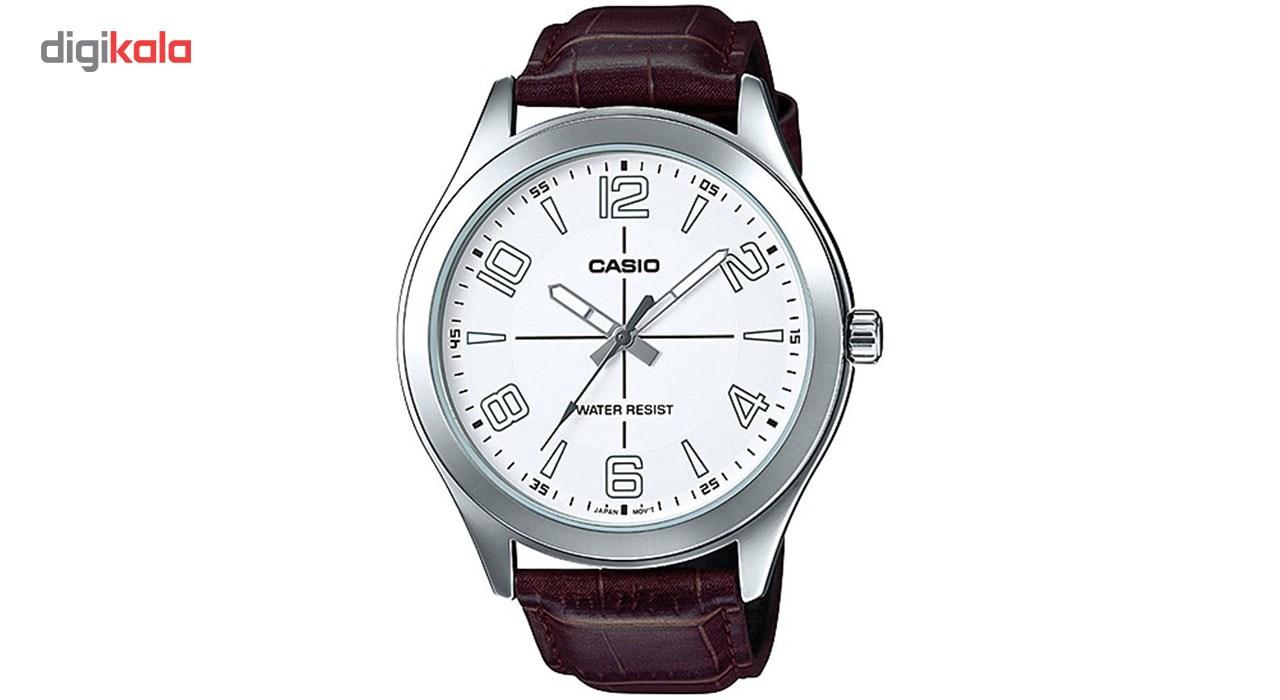 خرید ساعت مچی عقربه ای مردانه کاسیو مدل MTP-VX01L-7BUDF