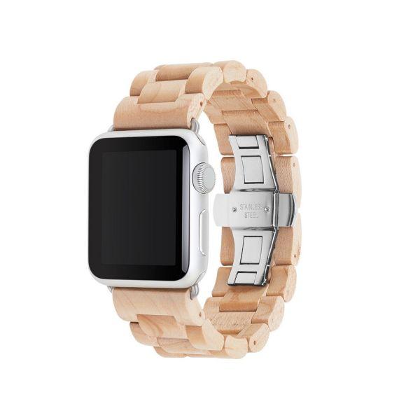بند ساعت چوبی وودسسوریز مدل EcoStrap مناسب برای اپل واچ 38 میلیمتری